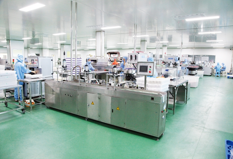 Production of disposable vacuum blood collection tubes