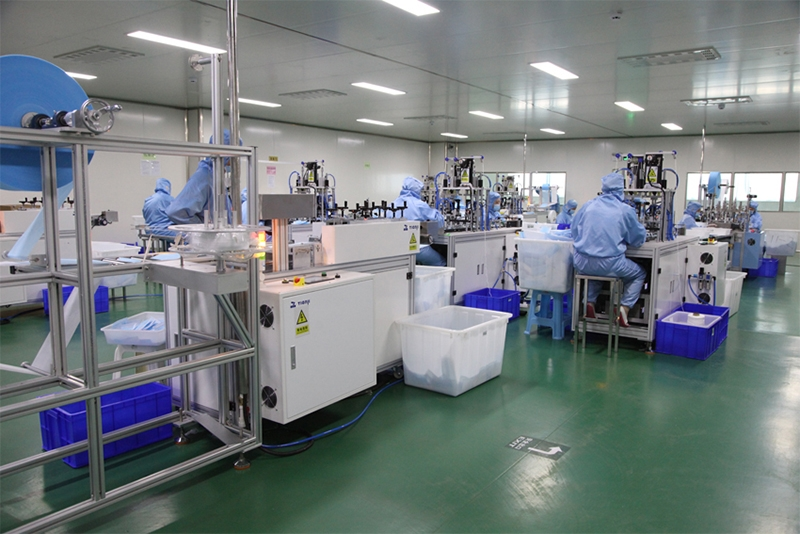 Production of medical surgical face masks